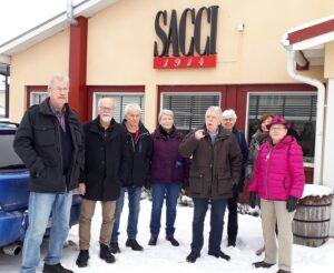 Aktiva Seniorer besöker Sacci den7 mars 2019